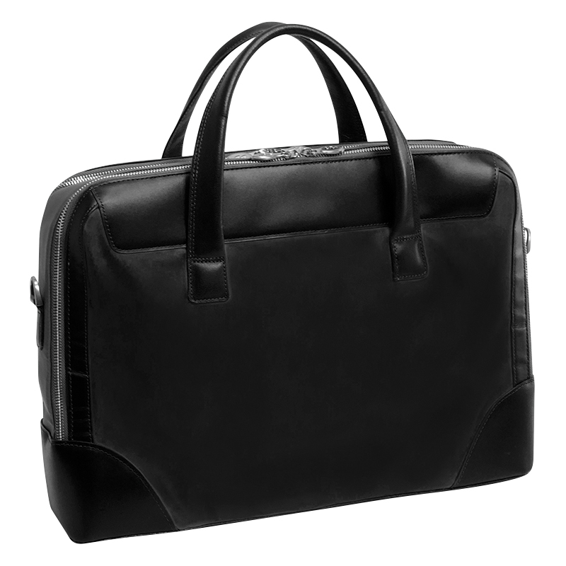 Harpswell Nylon Briefcase - Black