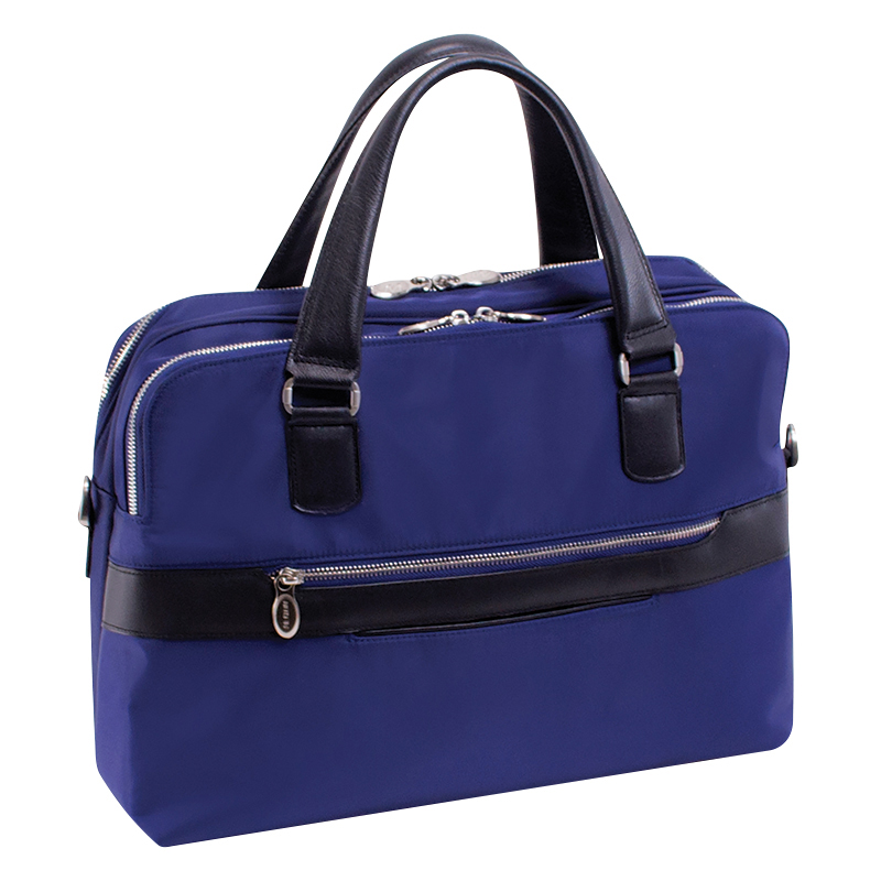 Hartford Nylon Briefcase - Navy