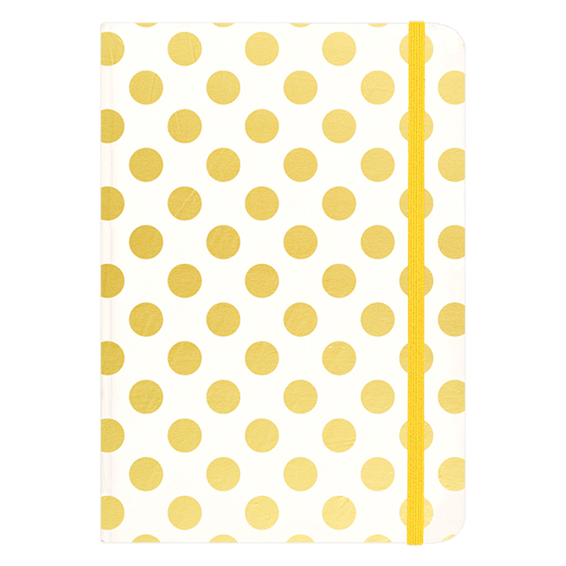 Journal Small - Gold Dots