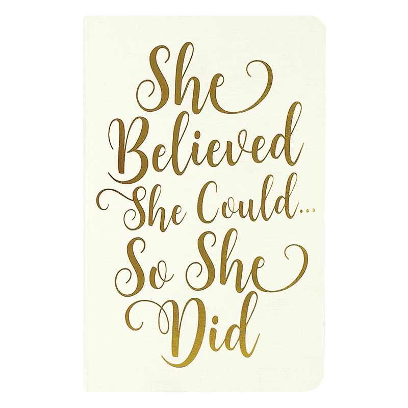 Jotter Notebooks - She Believed She Could