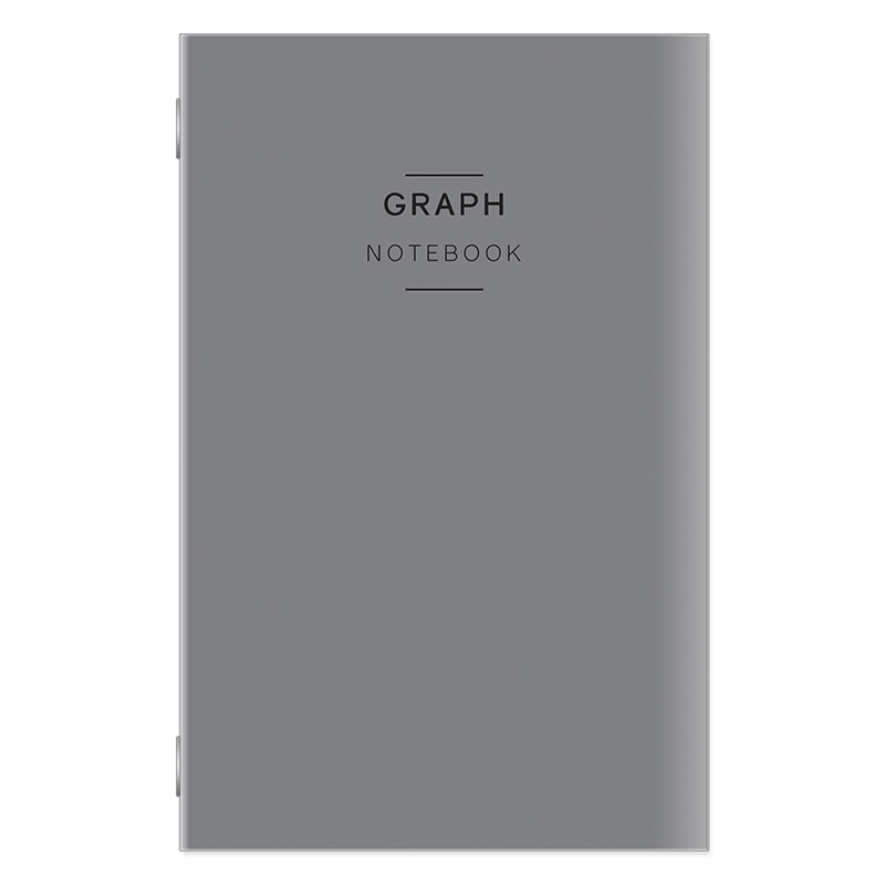 Classic Travelers Graph Notebook - Gray Cover