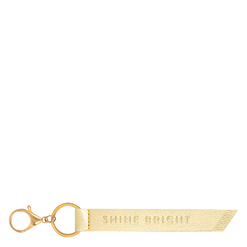 Deluxe Tab Keychain - Gold