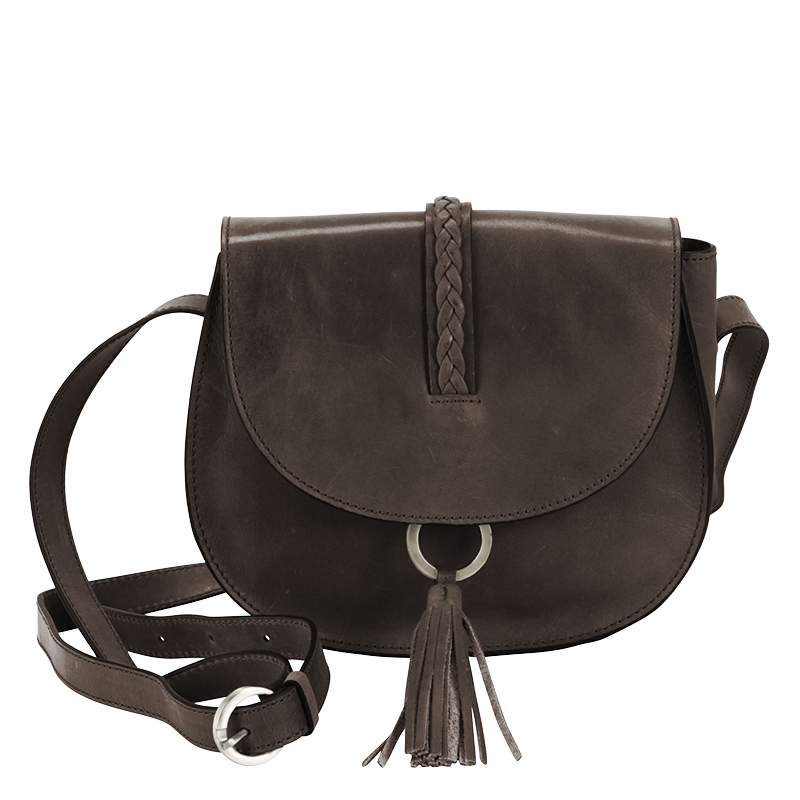 Ring Saddle Bag - Distressed Gray