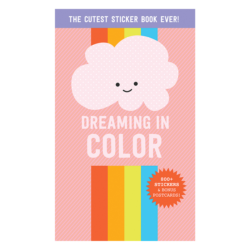 Dreaming in Color Sticker Book