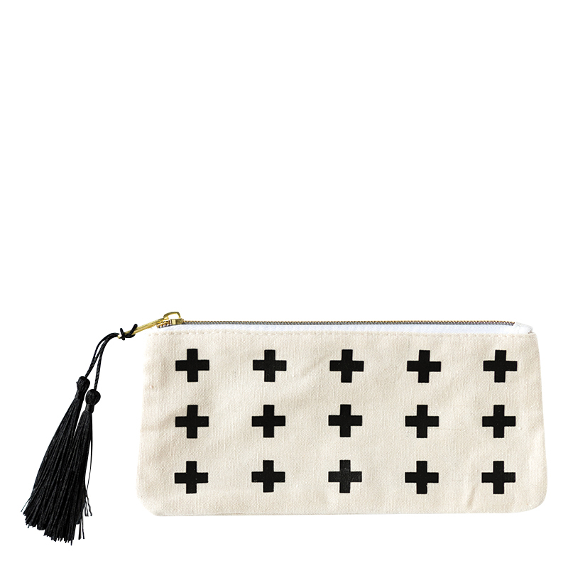 Accessory Pouch - Shades of White