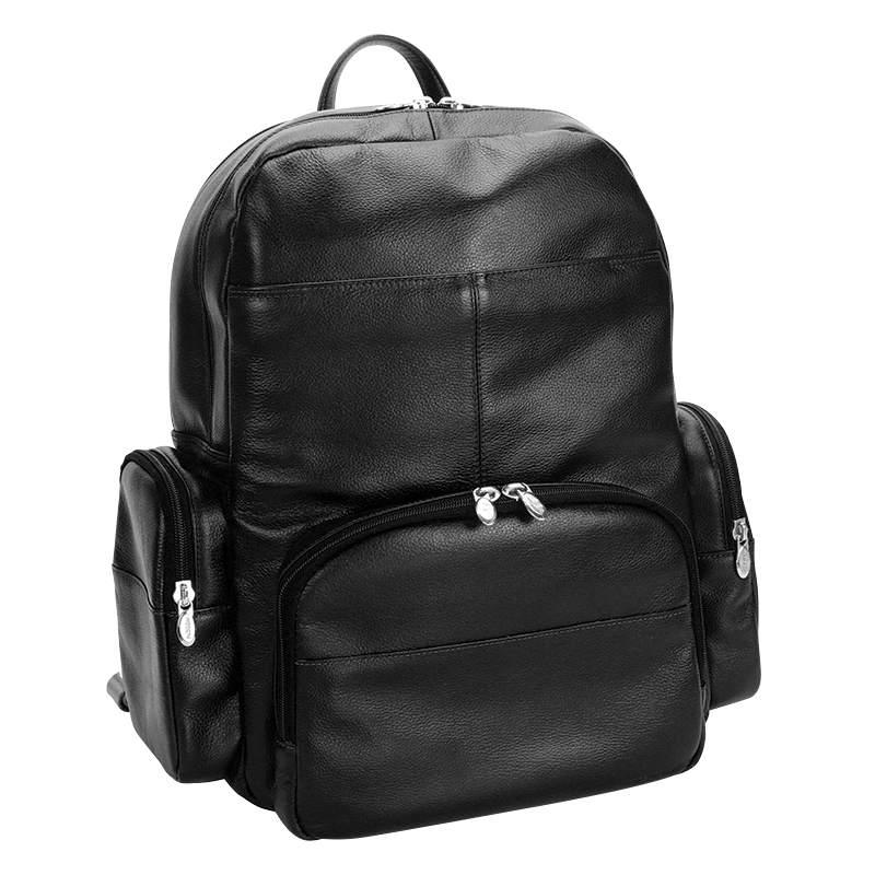 Cumberland Leather Backpack - Black