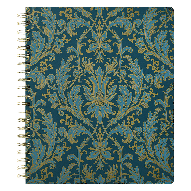 Spiral Bound Journal - Peacock
