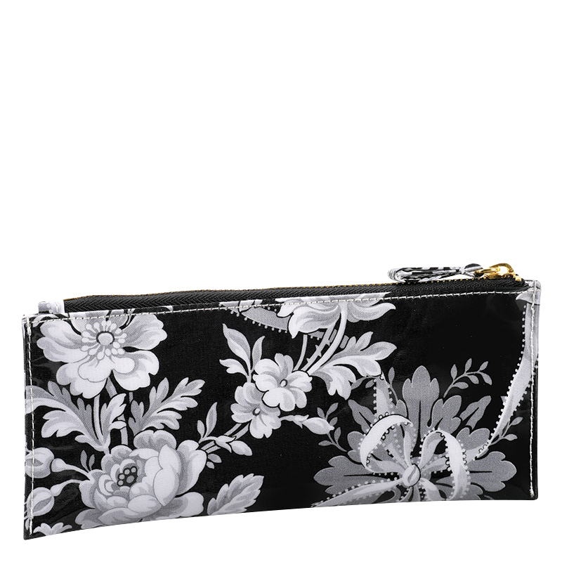 Laminated Fabric Pencil Case - Delphine