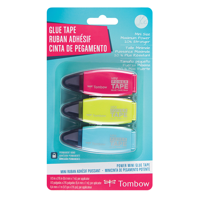Power Mini Glue tape 3 PK