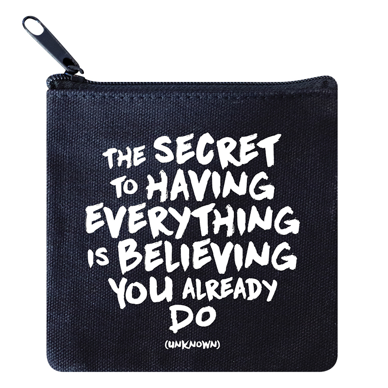 Mini Pouch - Secret to Everything
