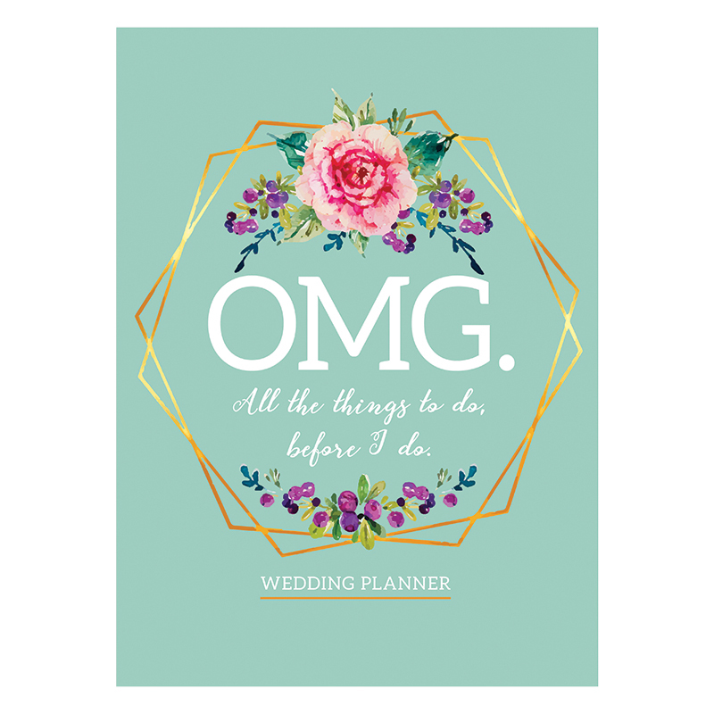 OMG! All The Things to Do Before I Do OpenDated Monthly Wedding Planner