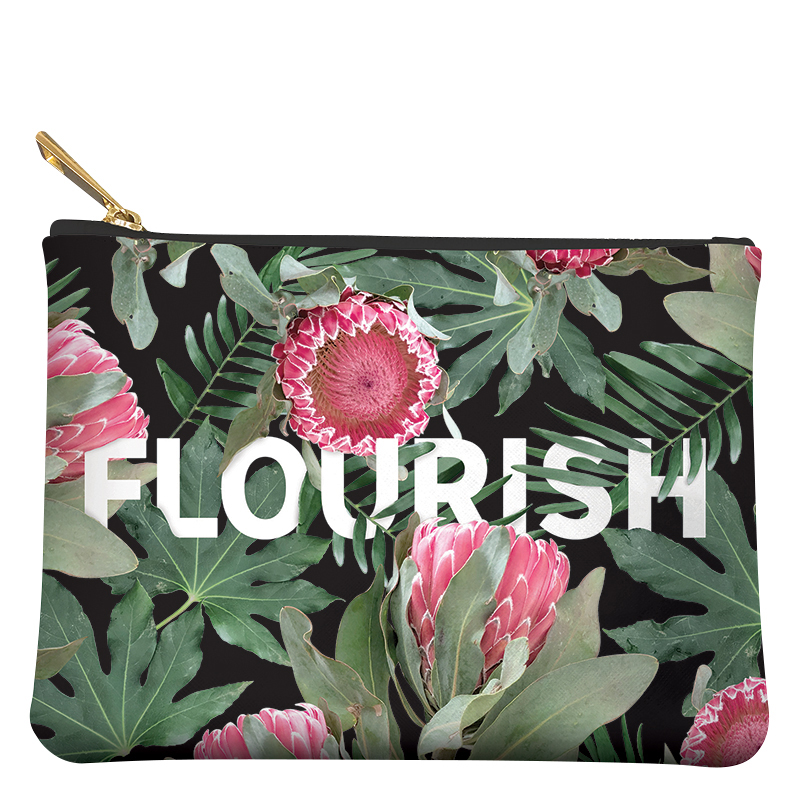 Medium Pouch - Flourish