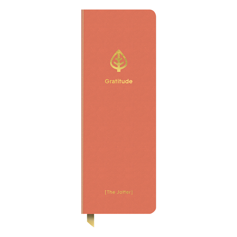 Gratitude Jotter Journal - Coral