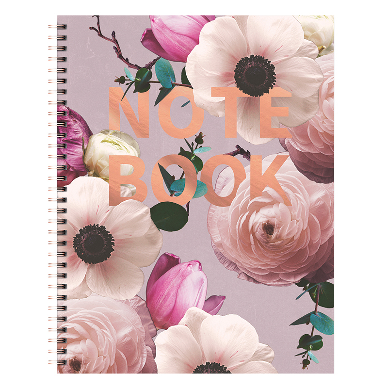 Spiral Extra Large Notebook - Blush
