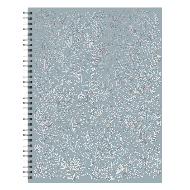 Spiral Extra Large Notebook - Flowering Vines