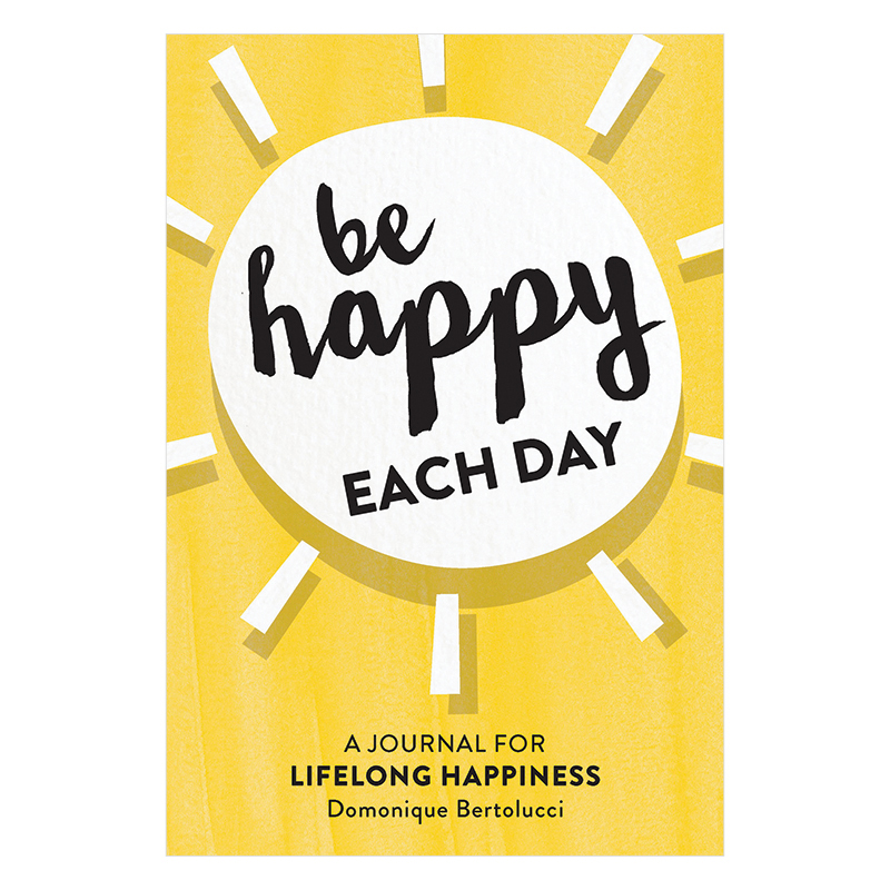 Be Happy Each Day Guided Journal