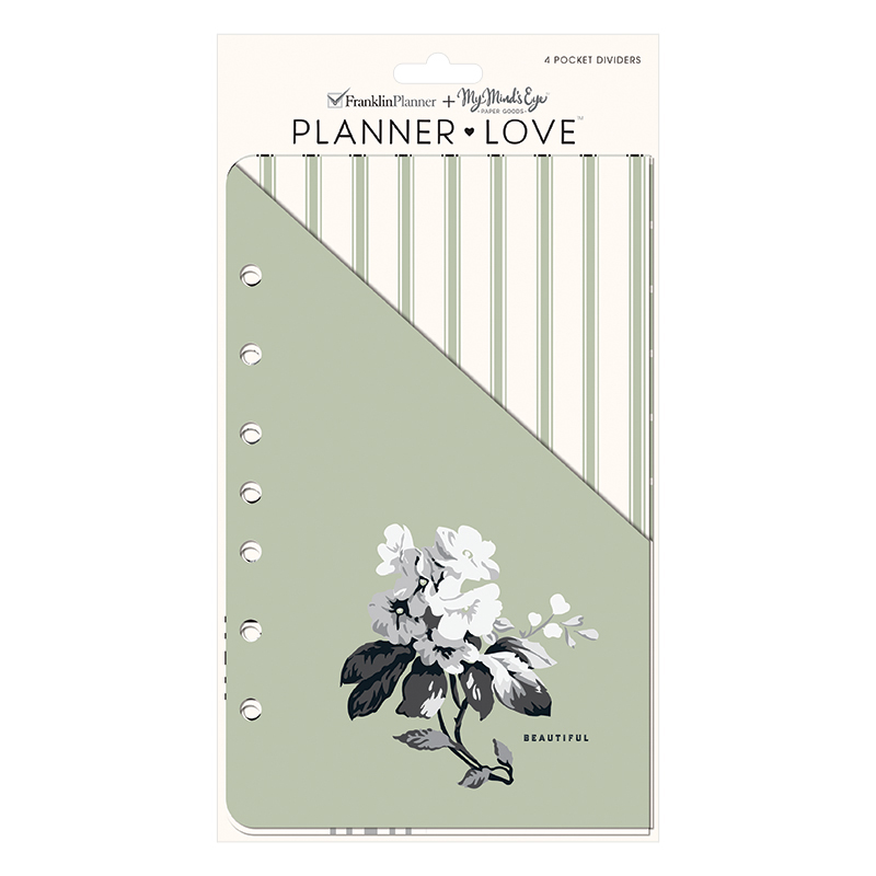 Classic Planner Love Pocket Dividers - Gingham Farm