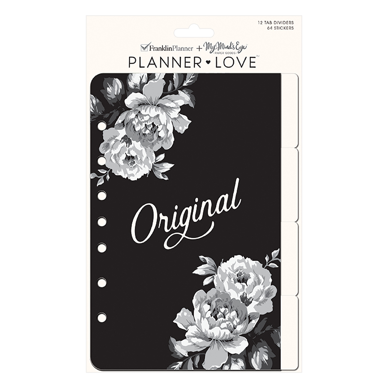 Classic Planner Love Tab Dividers - Gingham Farm