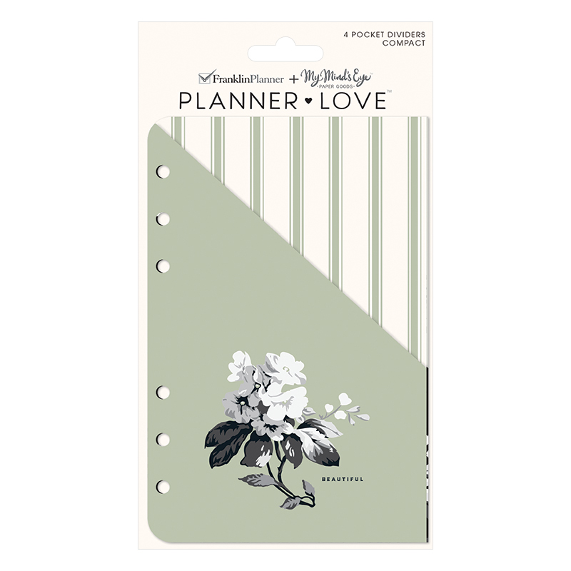 Compact Planner Love Pocket Dividers - Gingham Farm