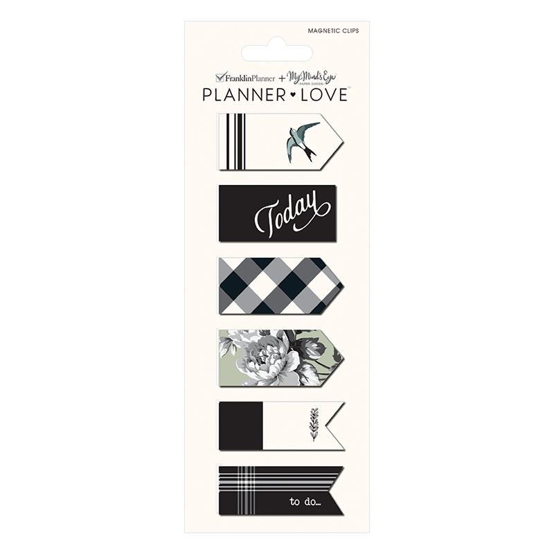Planner Love Magnet Clips - Gingham Farm