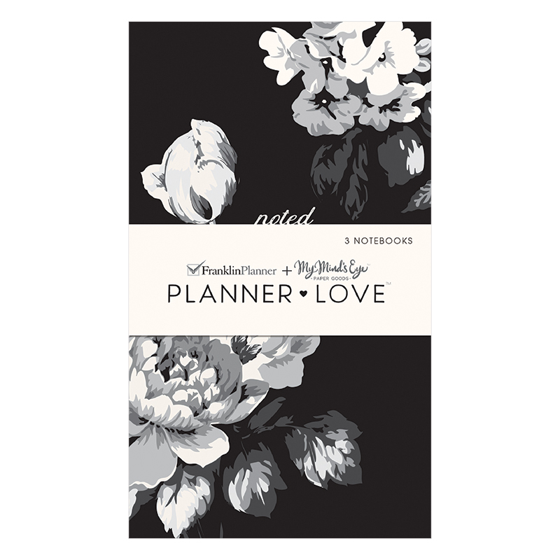 Planner Love Notebooks 3-Pack - Gingham Farm