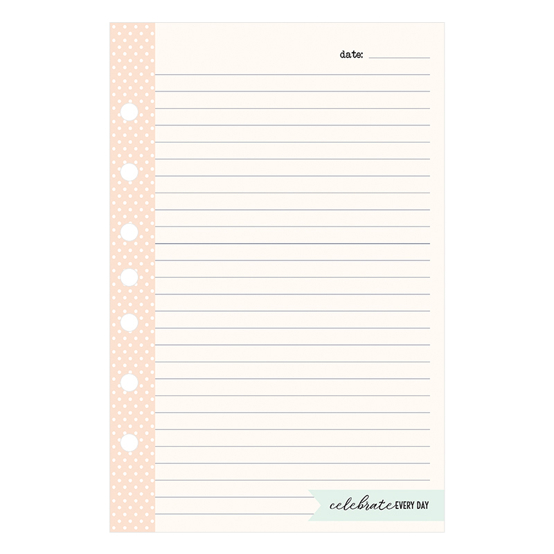 Classic Planner Love Lined Notepad - Splendor