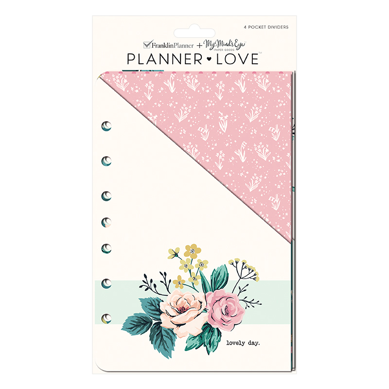 Classic Planner Love Pocket Dividers - Splendor