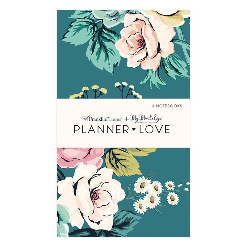 Planner Love Notebooks 3-Pack - Splendor