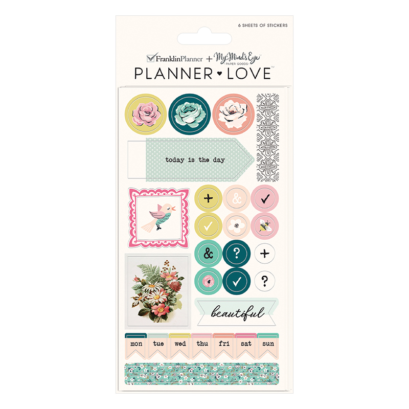 Planner Love Sticker Sheets - Splendor