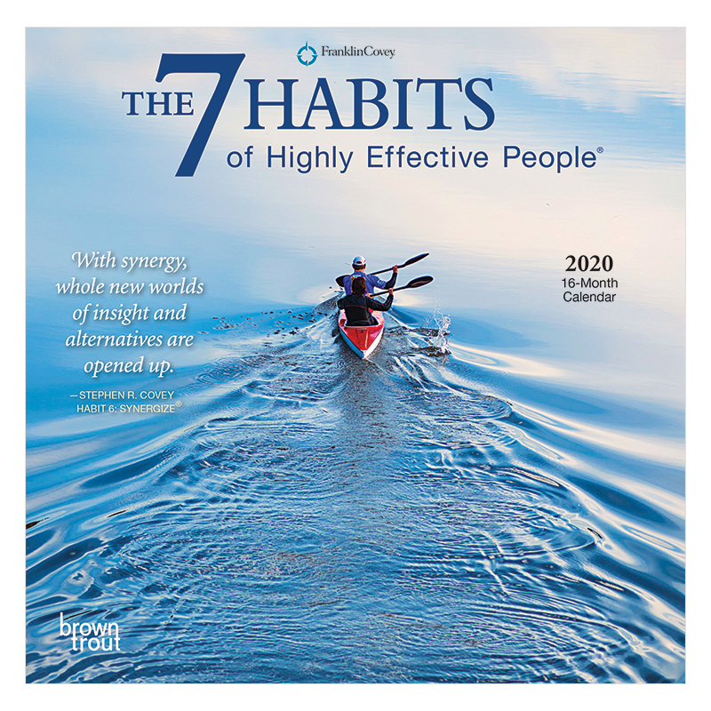 The 7 Habits of Highly Effective People 2020 Mini Calendar