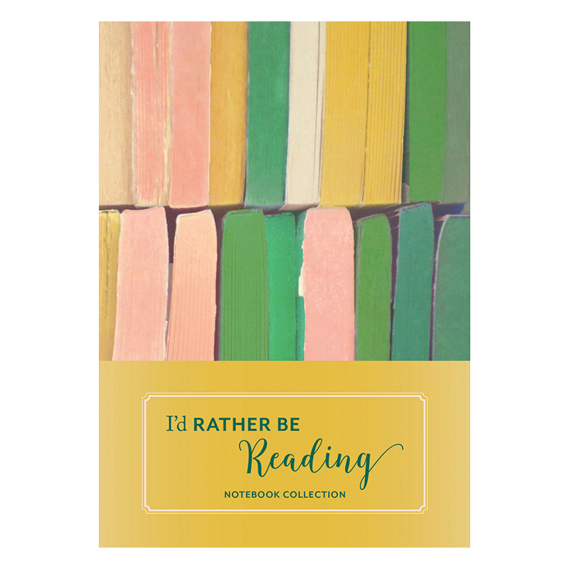 Notebook Collection: I'd Rather Be Reading