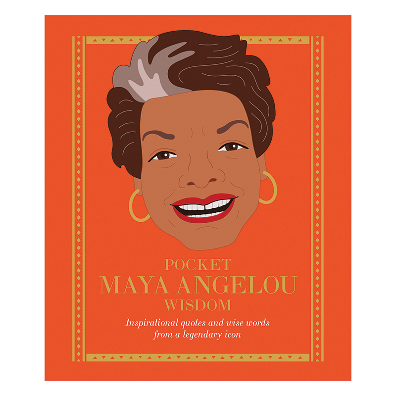 Pocket Wisdom: Maya Angelou Book