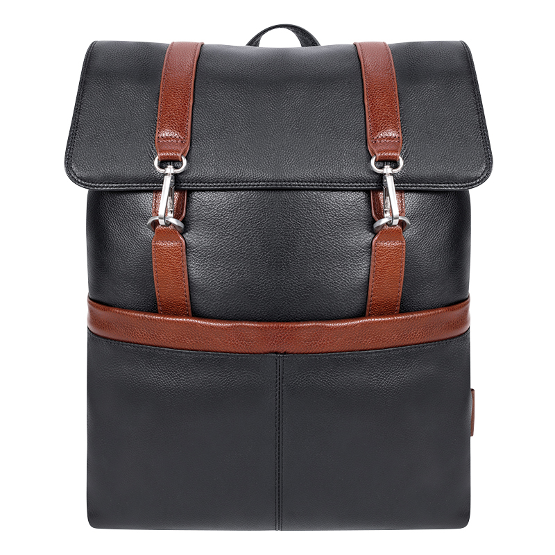 Element Leather Backpack - Black