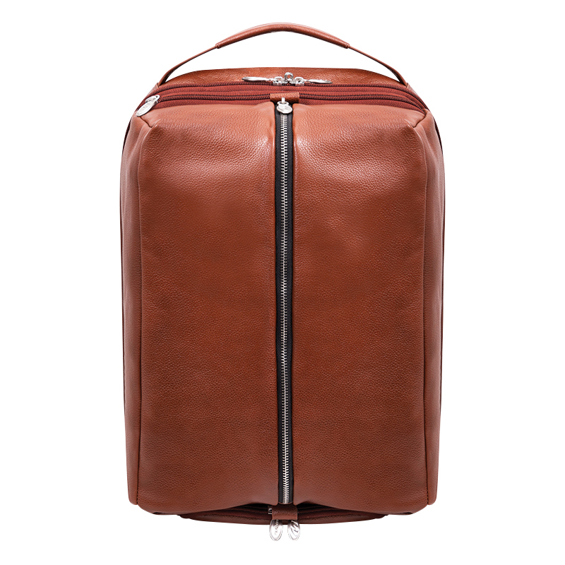 South Shore Leather Backpack - Brown