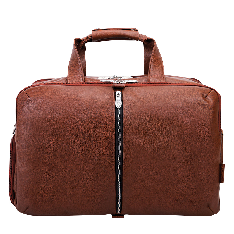 Avondale Leather Duffle - Brown