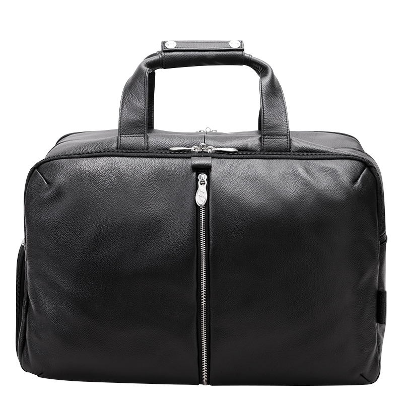 Avondale Leather Duffle - Black
