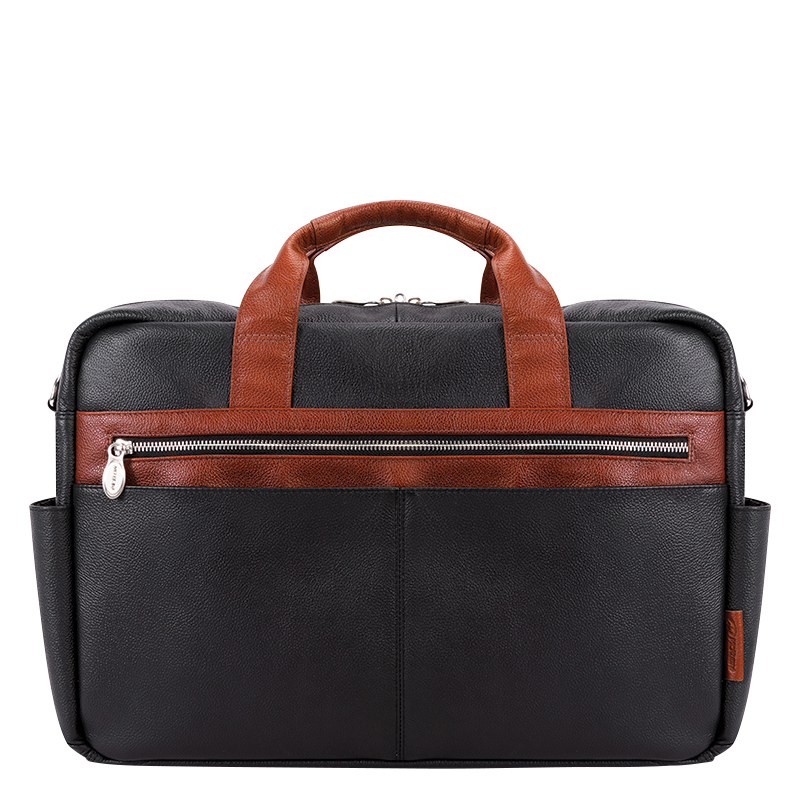 Southport Leather Briefcase - Black