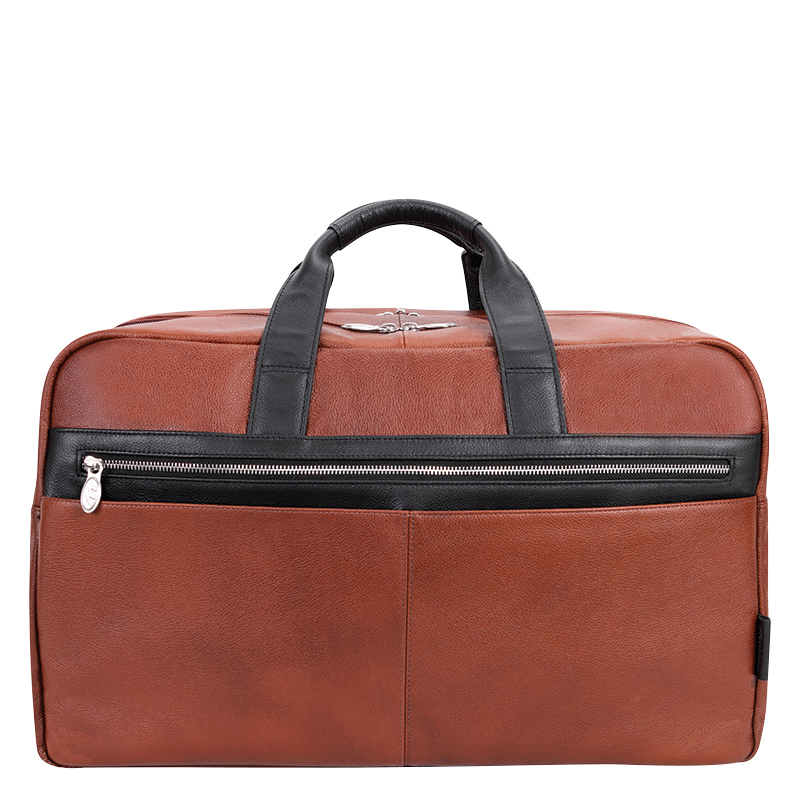 Wellington Leather Duffle - Brown