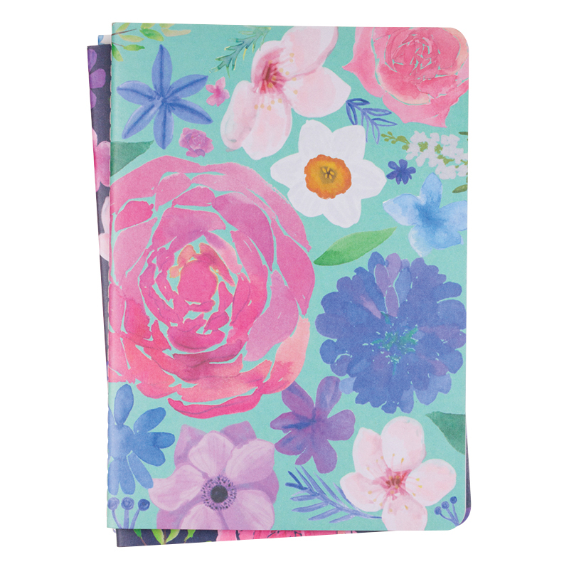 Ribbon Notebook Set - Floral