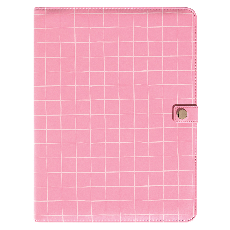 Padfolio With Notepad - Pink