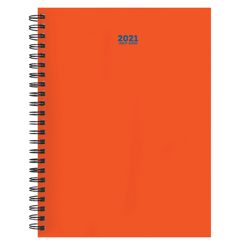 Orange You Glad Medium Weekly/Monthly Academic Planner - July 2020 -2021