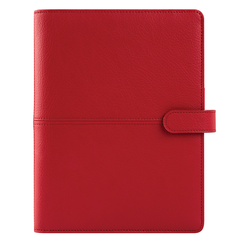 Classic Anna Leather Snap Cover - Carmine Red