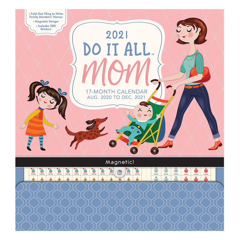 Mom 2021 Do It All Wall Calendar - Franklin Planner