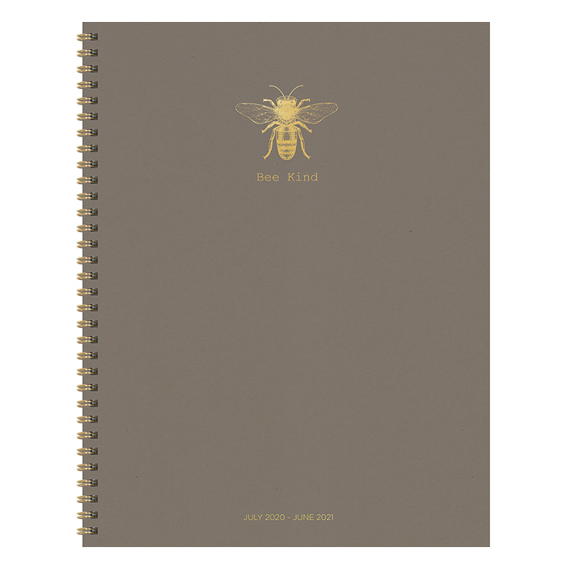 Bee Kind Large Weekly/Monthly July 2020-2021 Academic Planner