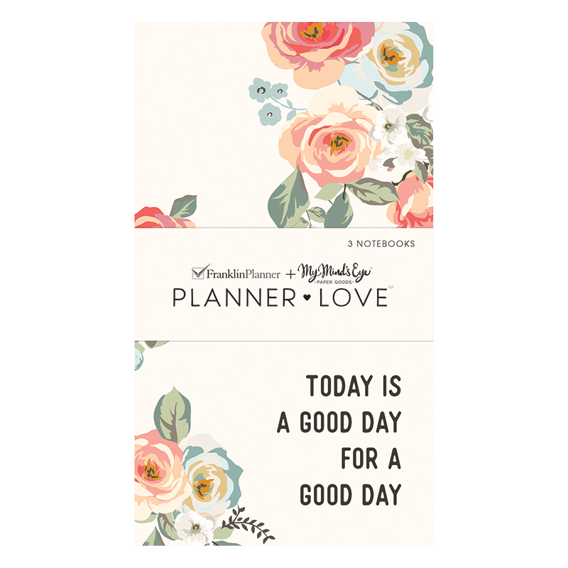 Planner Love Notebooks 3-Pack - Gingham Gardens