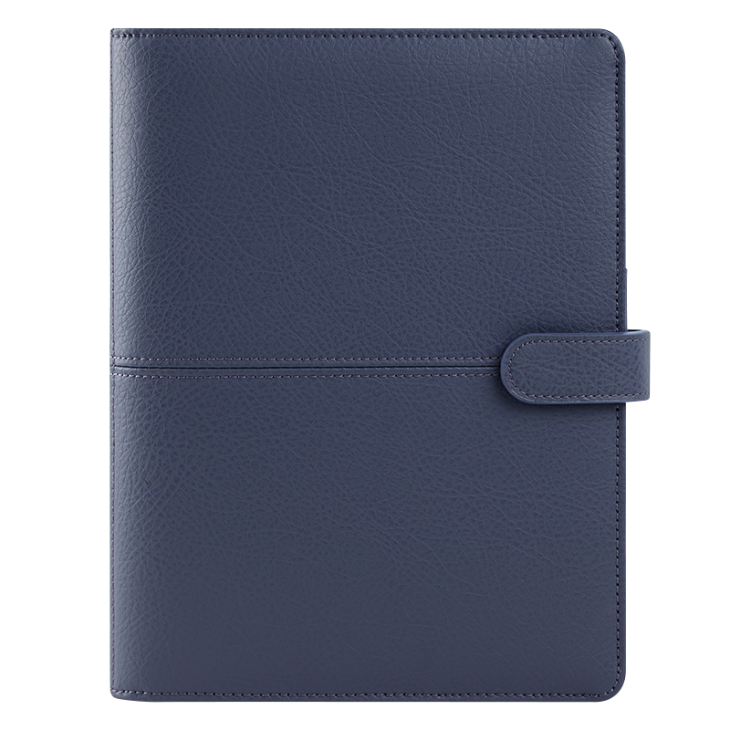 Classic Anna Leather Snap Cover - Sailor Blue