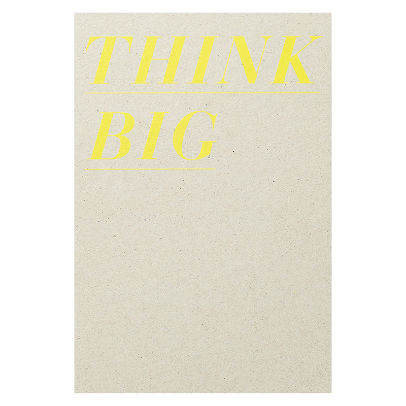 Notebook - Think Big