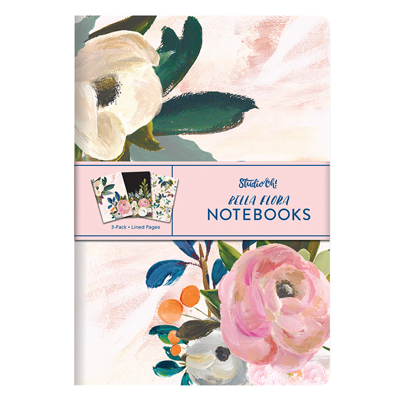 Notebook Trio - Bella Flora