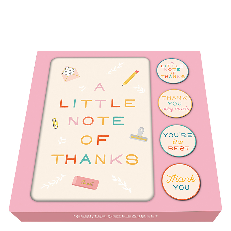 Notecard Set Tiny Treasures Thank You