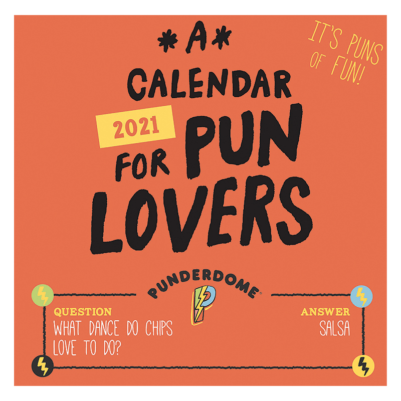 2021 Pun Lovers Daily Desktop Calendar
